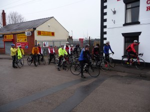 22 Riders on the 27 and 49 mile Reliability Rides on 3rd February 2013
