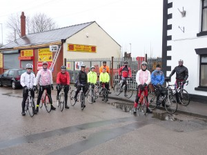Riders at Start of 65-mile Reliability
