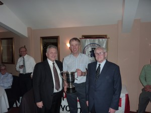 Mark Lovatt with the Tour of the Peak Trophy