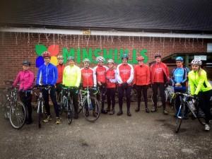 Saturday Club Ride at Minshulls.