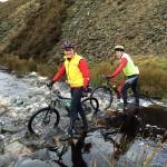 Bob Norton and Roy Hayhurst. Stream crossing