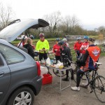 100 RT Feed Station at 75 miles