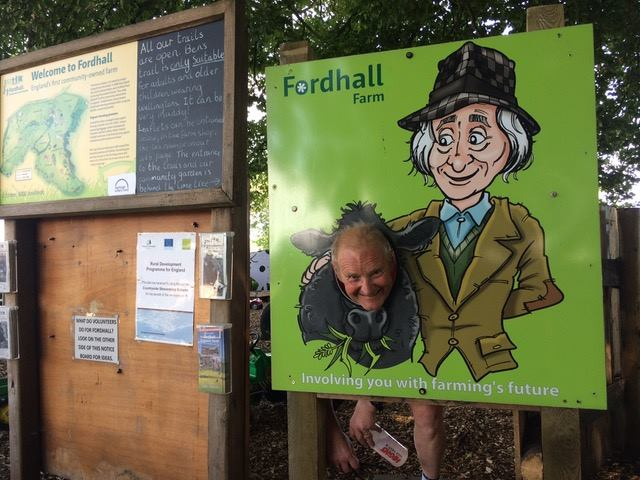 Bob at Fordhall Farm