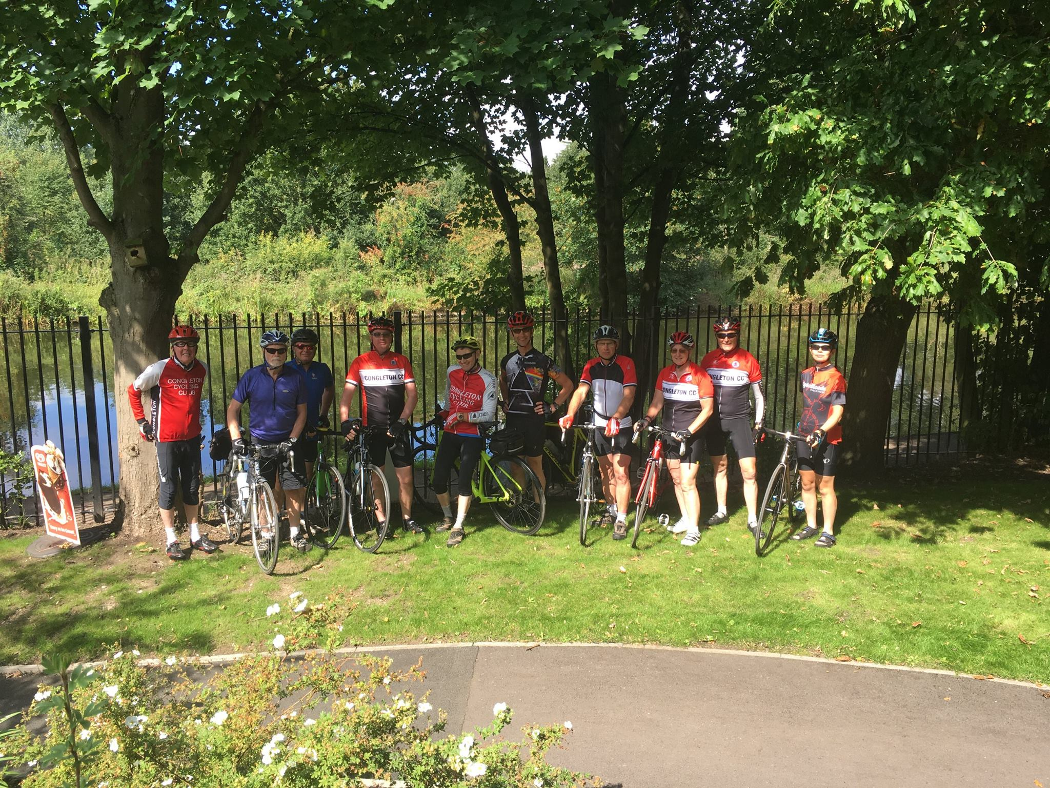 Congleton Cycling Club at the Pickle Jar bistro